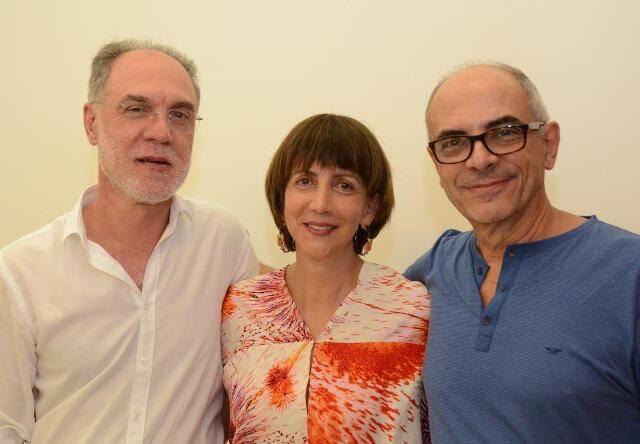Ângelo Venosa, Mara Fainziliber e Milton Machado