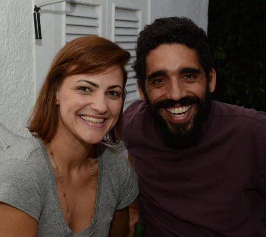 Gleice Mayre e Silvio de Camillis