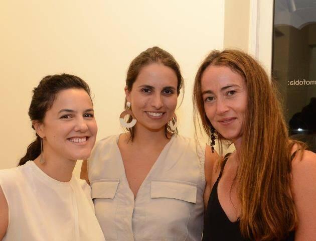 Joana Pessoa, Patricia Fainziliber e Alessandra Modiano