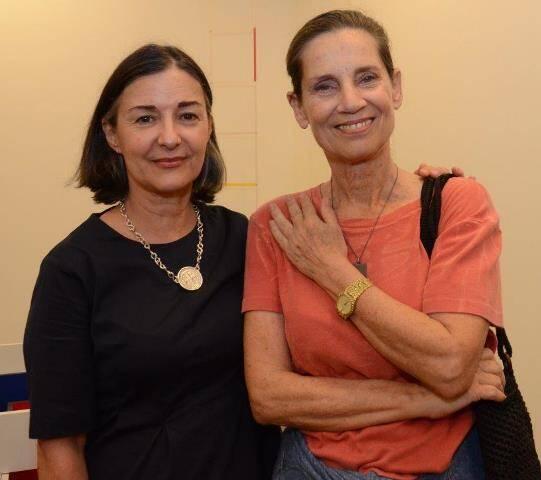 Liginha Duran e Claudia Laplan