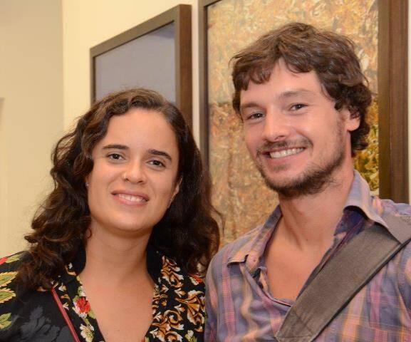 Luana Vieira e Alexis Zelensky