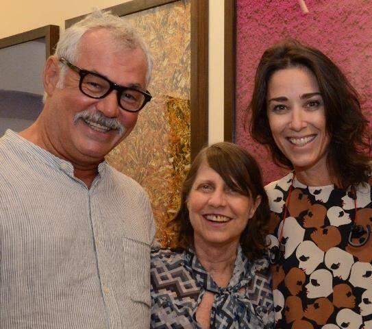 Marcos Chaves, Brigida Baltar e Gabriela Moraes