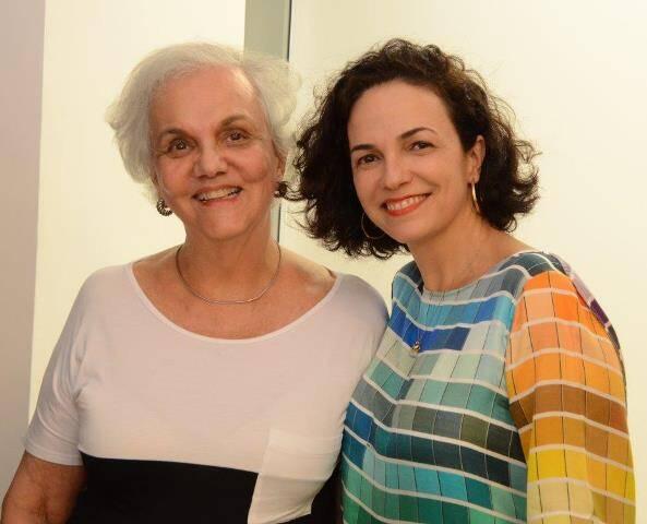 Maria Luiza Penna Moreira e Rosa Moreira