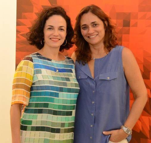 Rosa Moreira e Gaby Indio da Costa