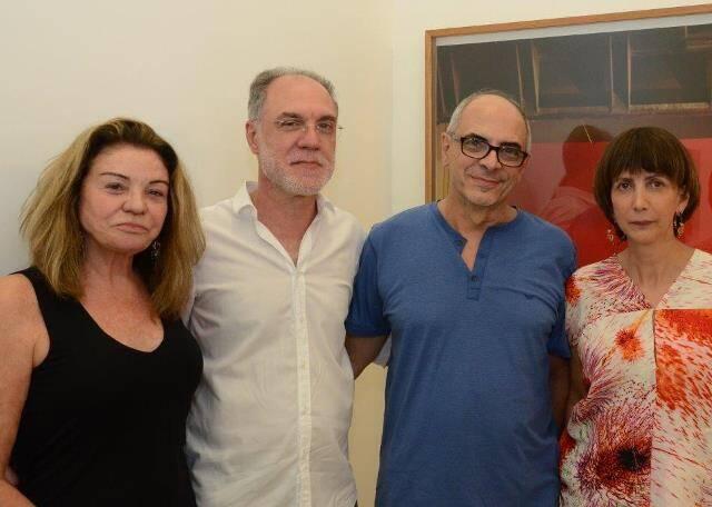 Sylvinha Martins, Ângelo Venosa, Milton Machado e Mara Fainziliber
