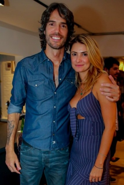 André Diniz e Priscila Borgonovi