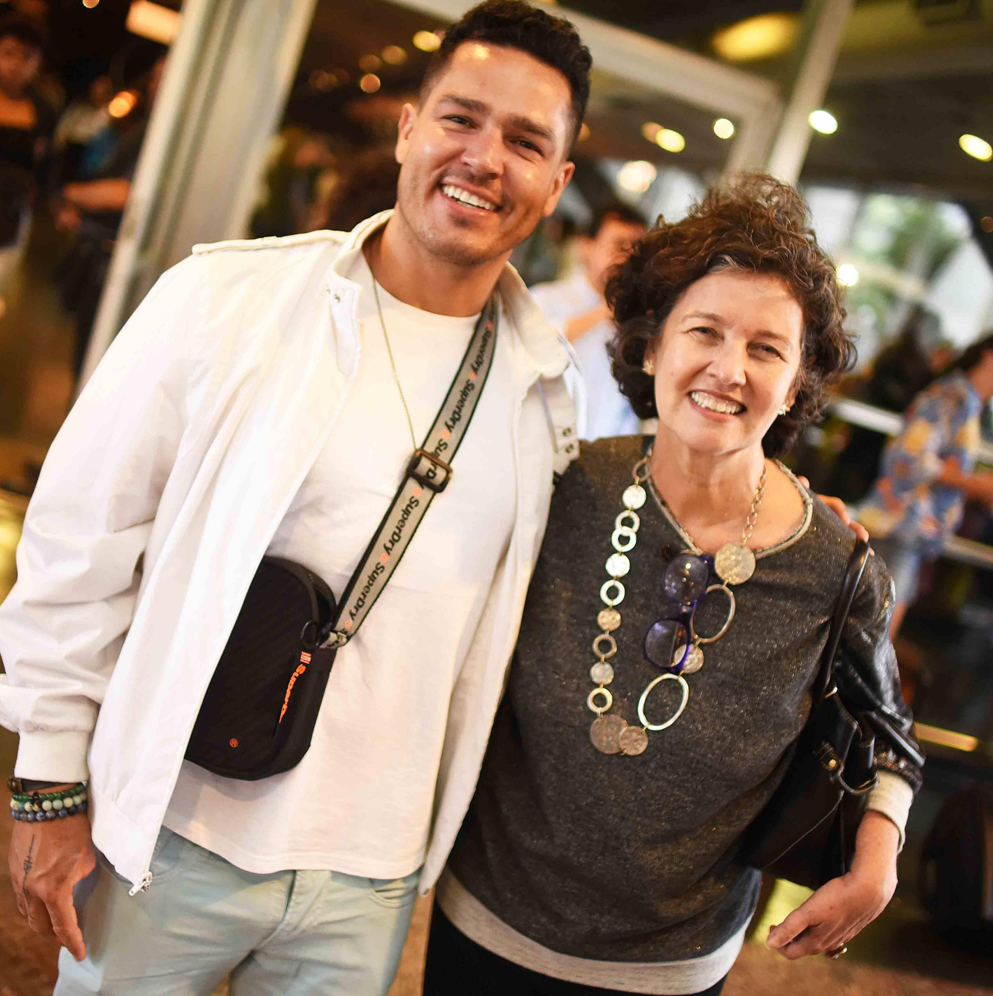 Fessal e Claudia Noronha /Foto: Ari Kaye