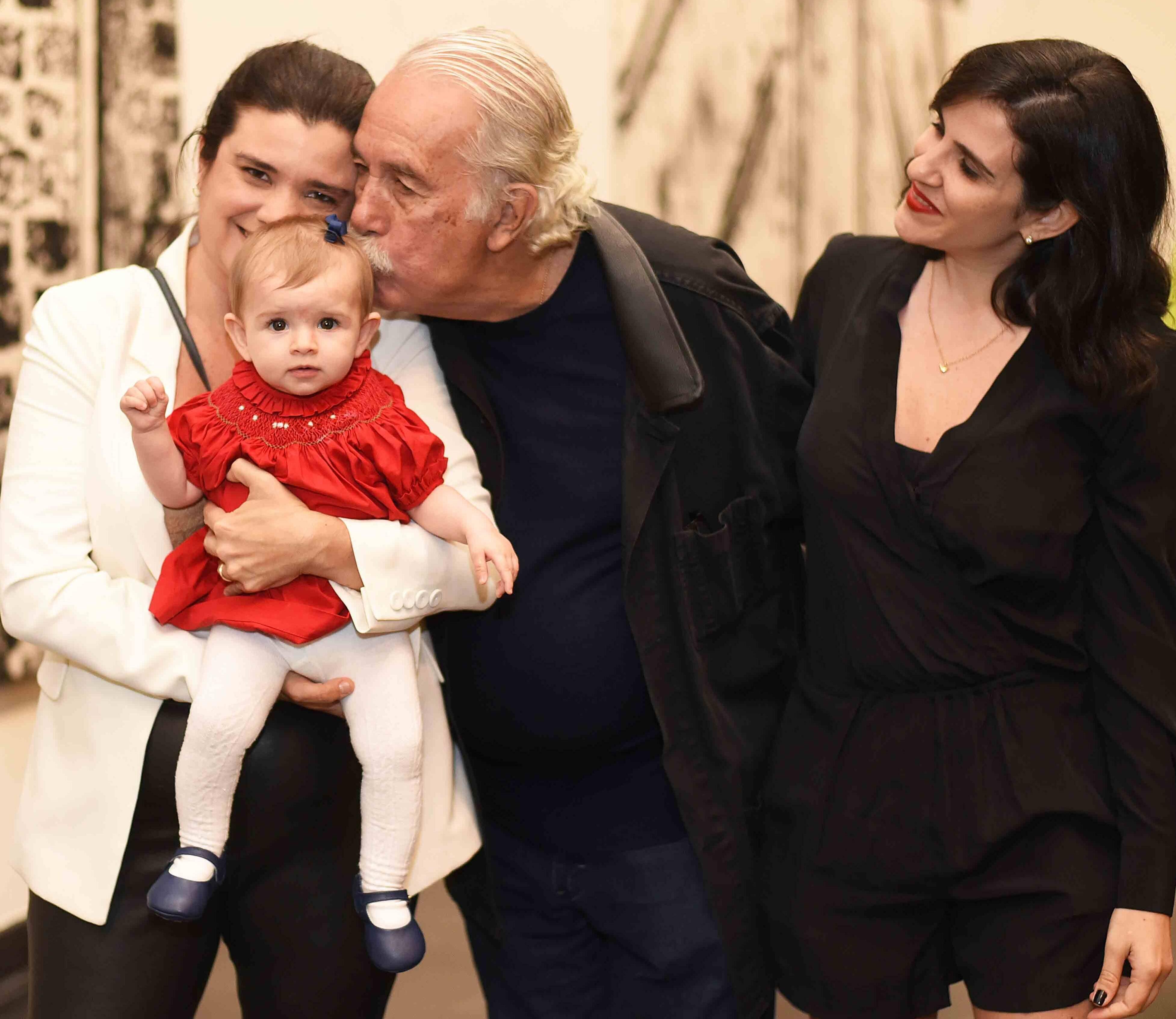 Ines Vergara, Antonia Vergara, Carlos Vergara e Maira Donicci /Foto: Ari Kaye