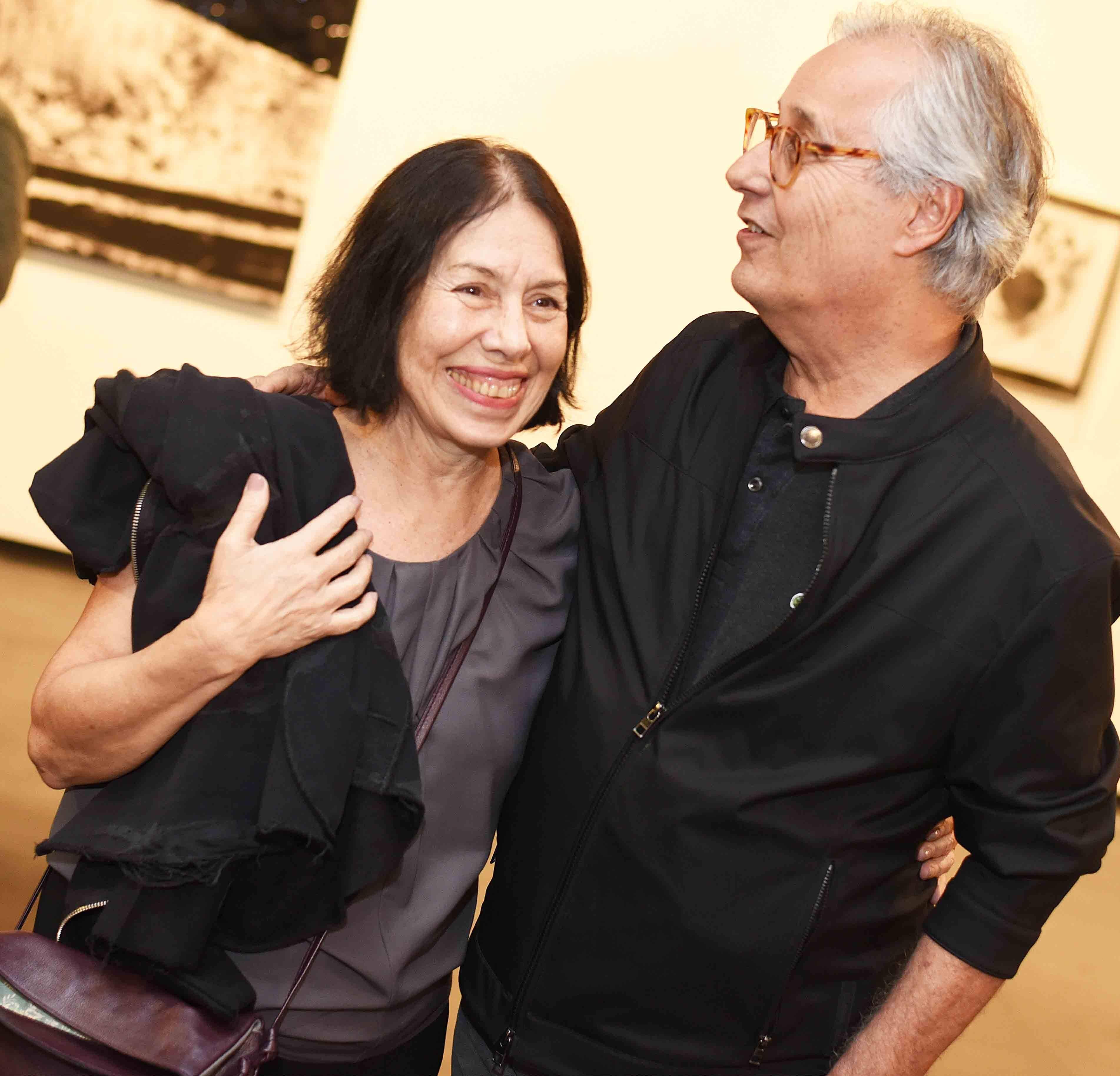 Iole Freitas e Everardo Miranda /Foto: Ari Kaye