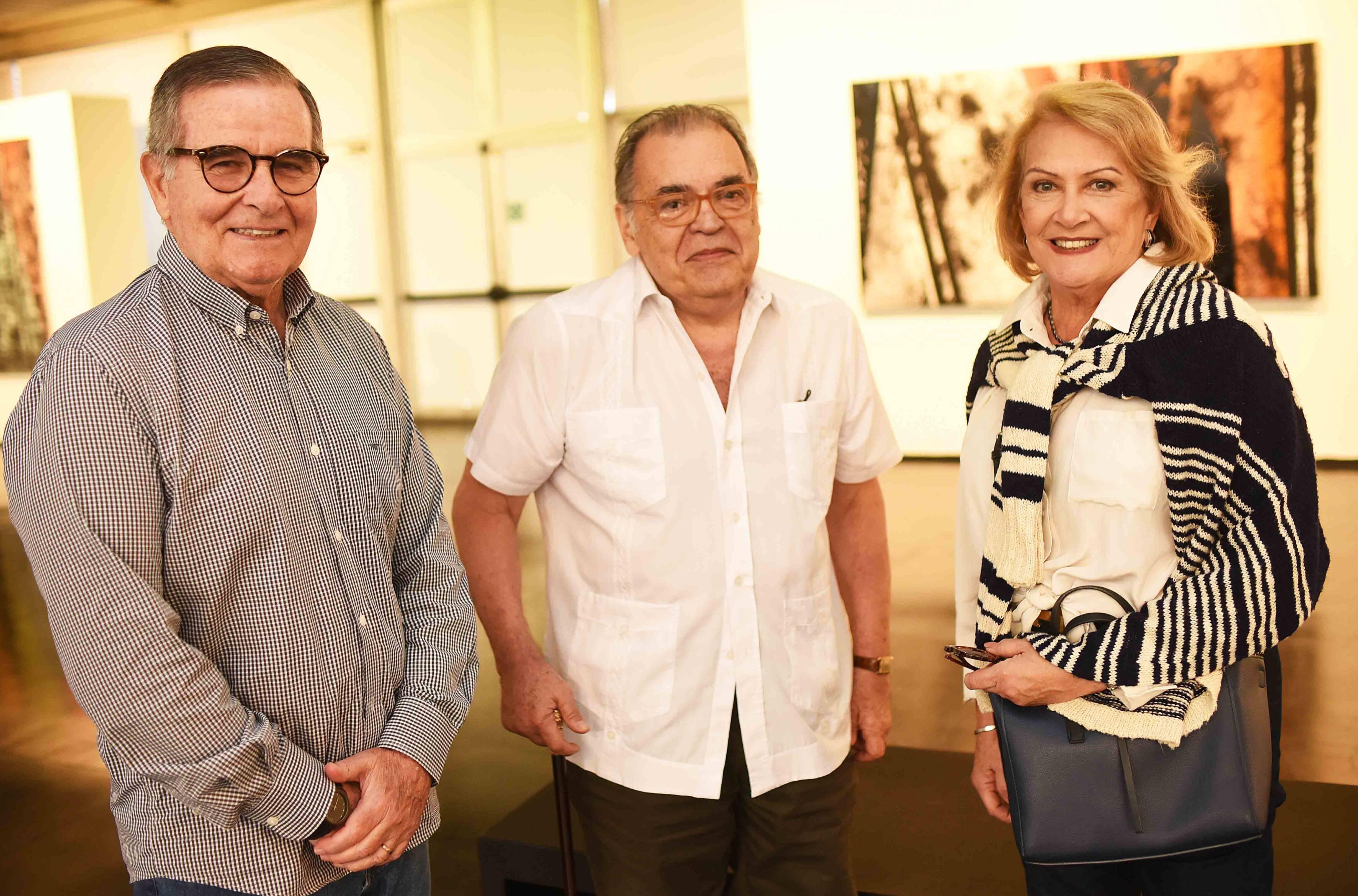 José Carlos, Sebastião Lacerda e Celia Lobão /Foto: Ari Kaye
