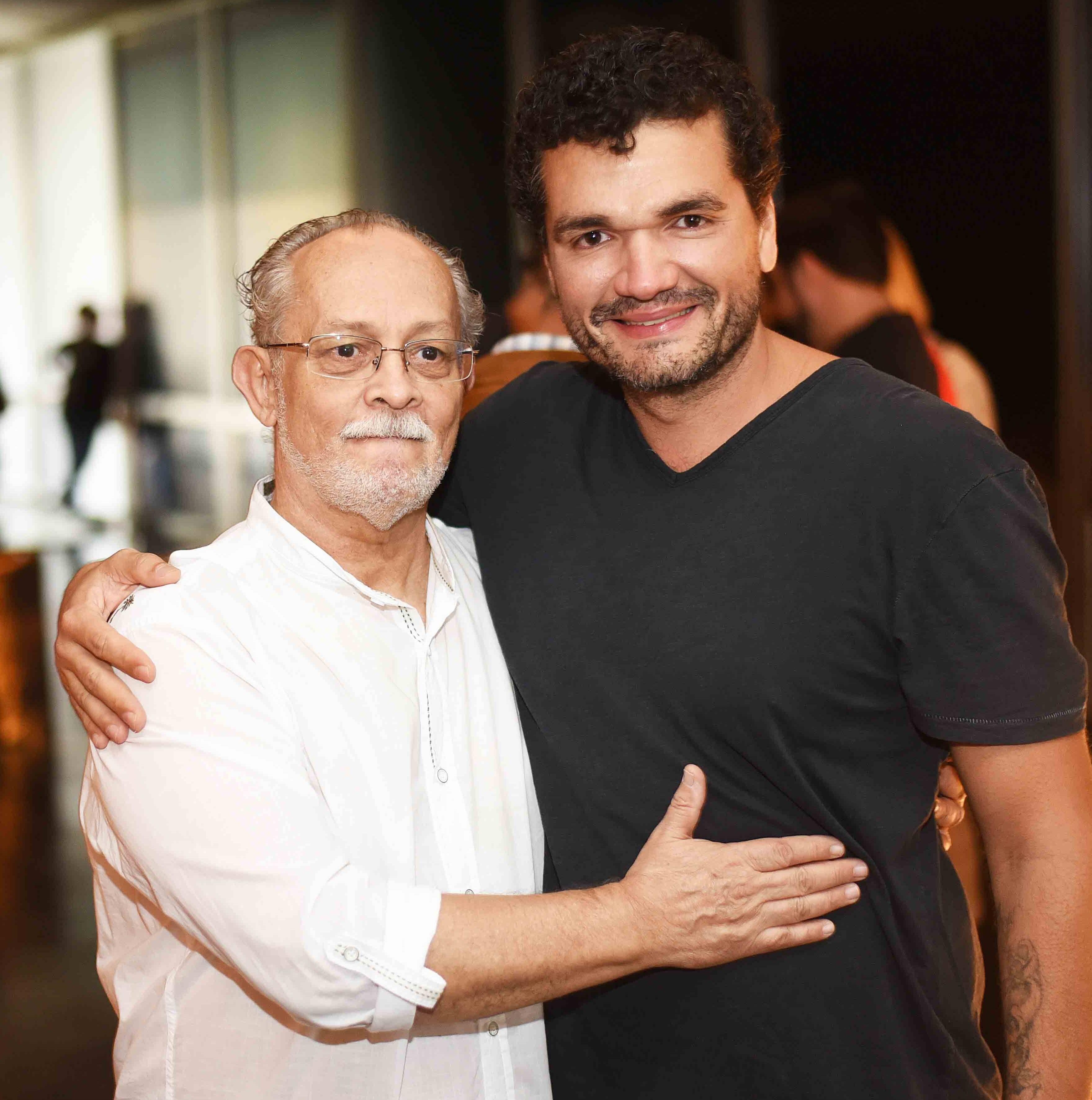 José Zanine Caldas Filho e Flavio Santoro /Foto: Ari Kaye