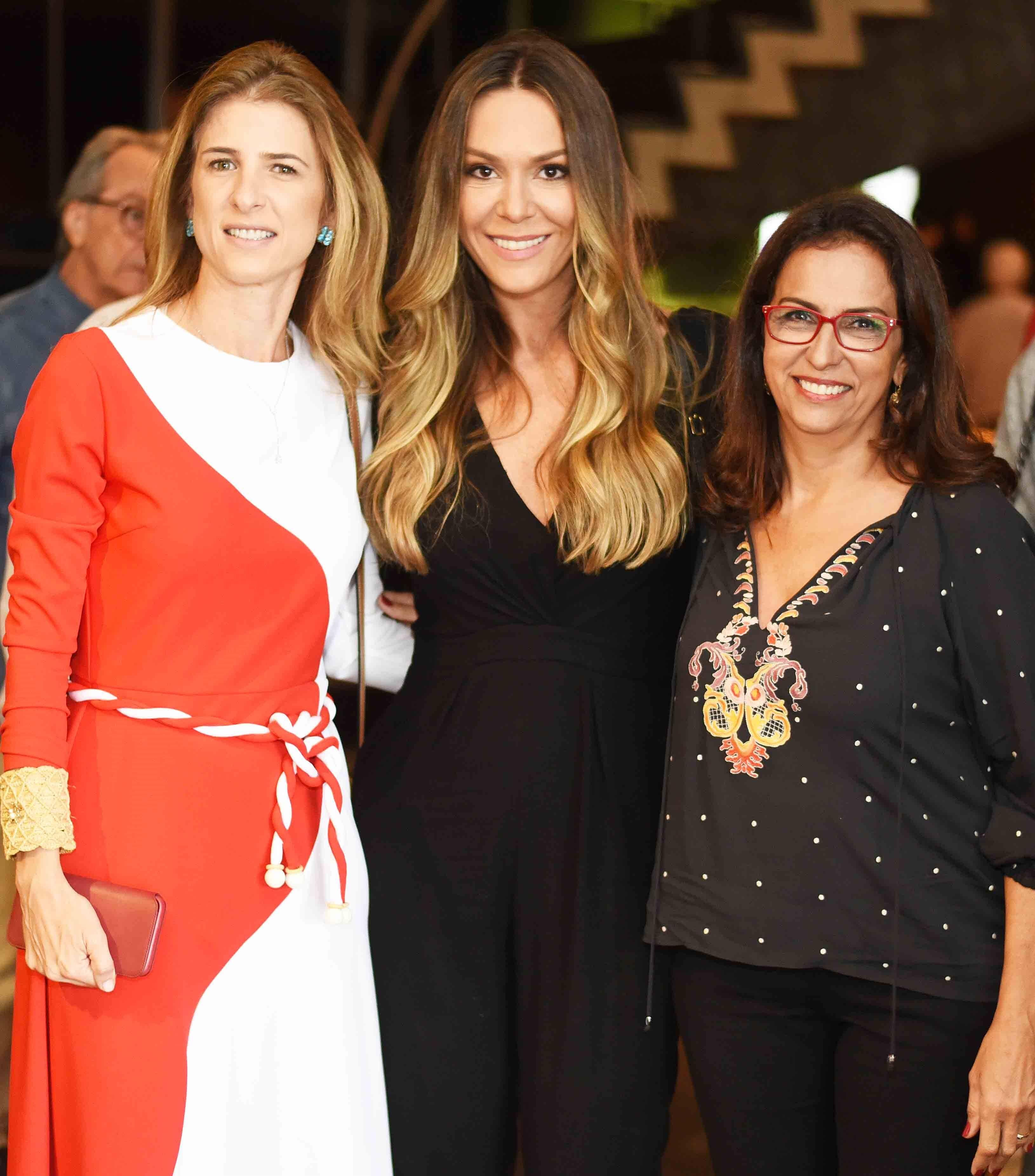 Lissa Carmona, Marcela Bartolomeo e Dea Zanine /Foto: Ari Kaye