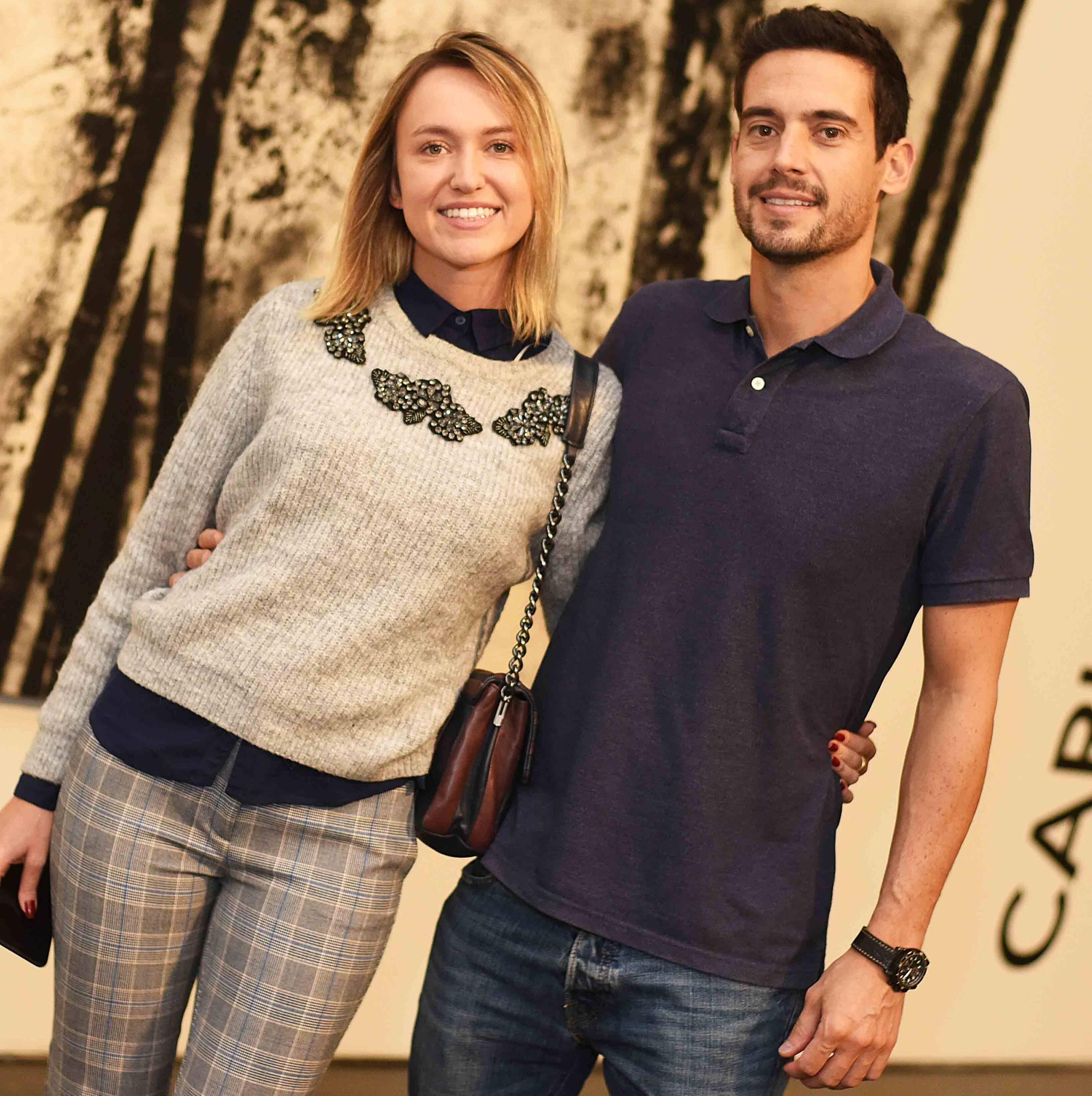 Mariana Monnerat e João Almendra /Foto: Ari Kaye