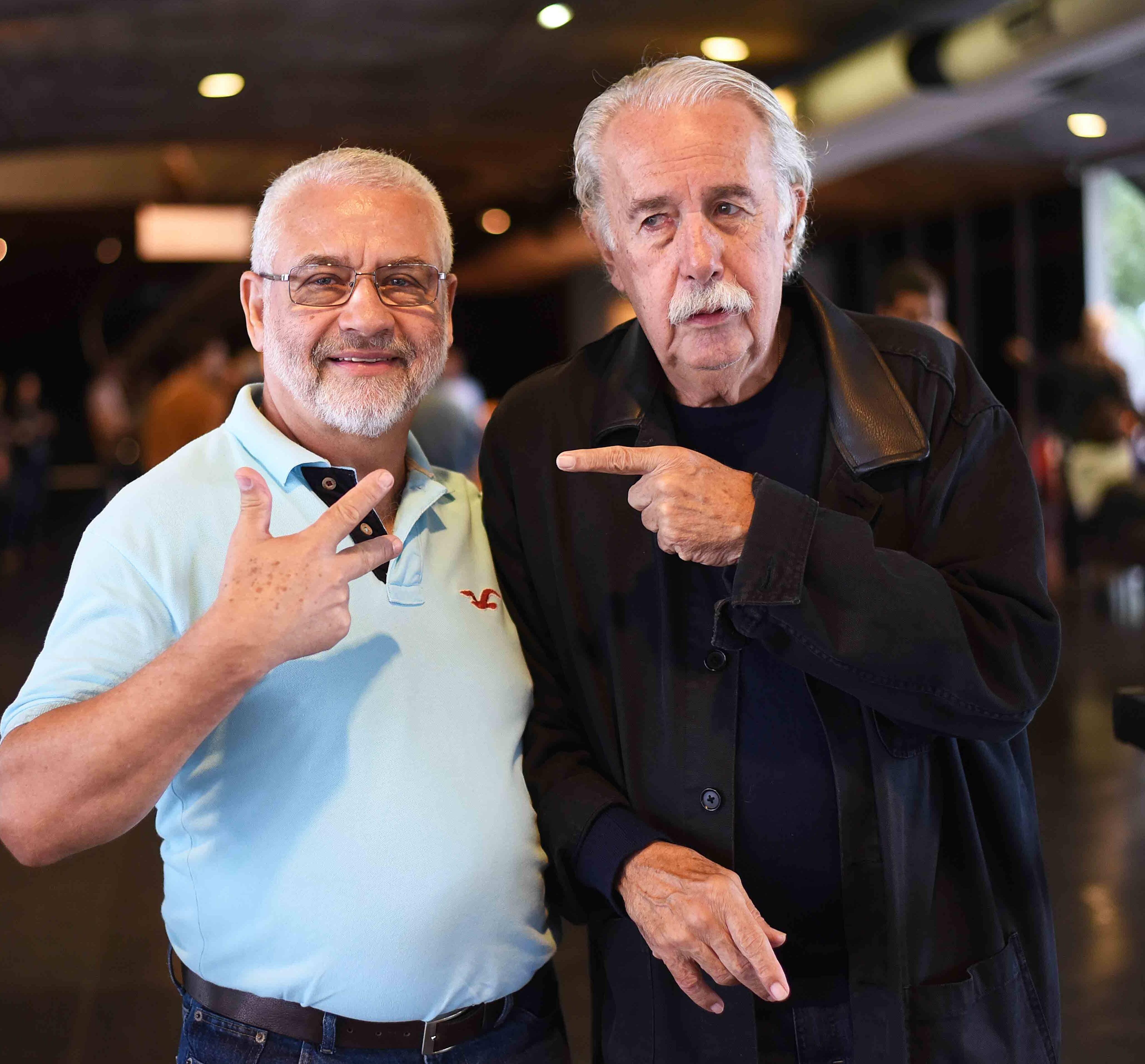 Reduzino e Carlos Vergara /Foto: Ari Kaye