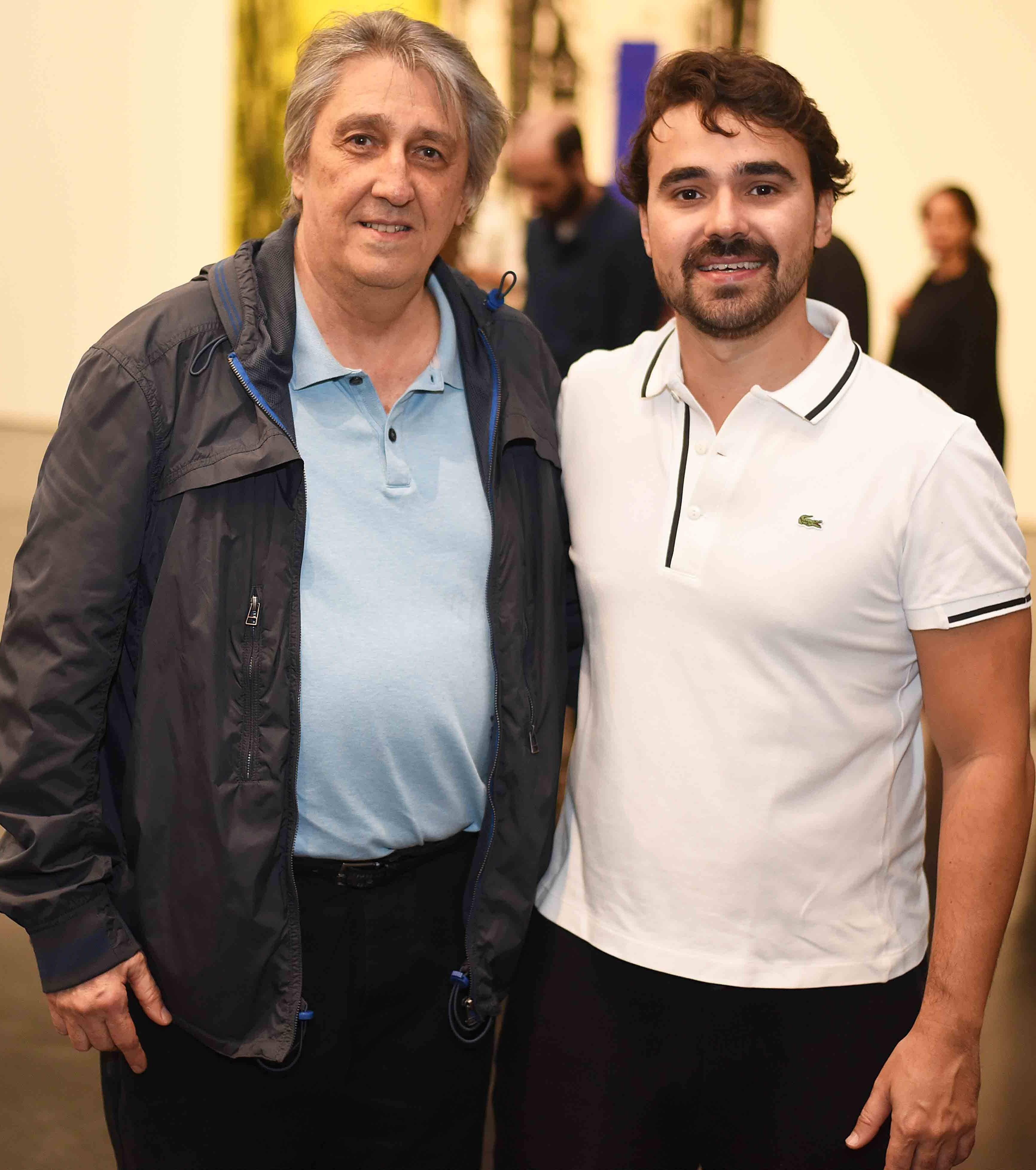 Waltércio Caldas e Max Perlingeiro Filho /Foto: Ari Kaye