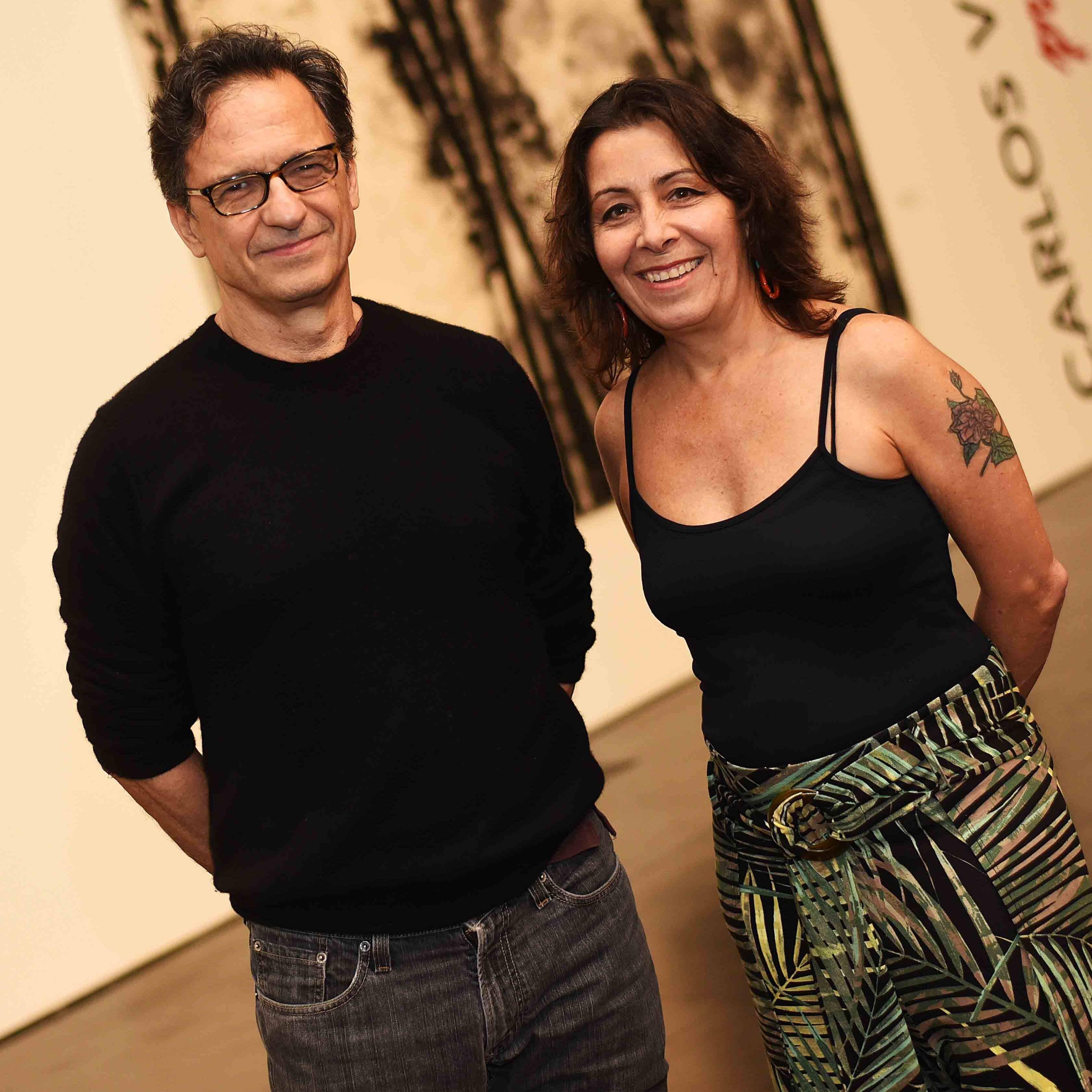 Daniel Senise e Lucia Meneghini /Foto: Ari Kaye