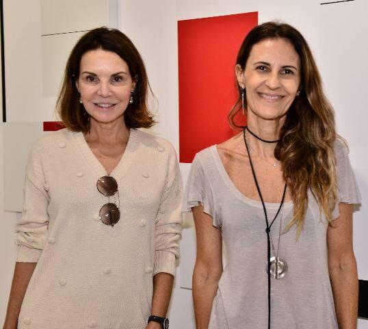 Patrícia Mayer e Cristiana Médici
