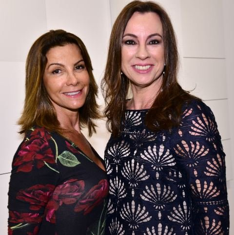 Ana Maria de Castro e Luciana Almeida