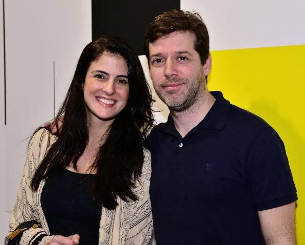 Livia Pareto Maciel e Bruno Klabin
