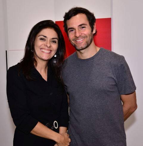 Mariana Feres e Fabiano Al Makul
