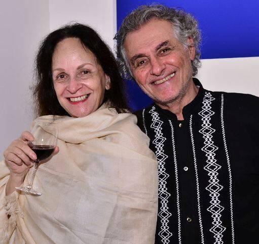Helena Lustosa e Jom Tob Azulay