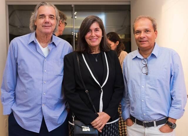 Bernardo Vilhena, Carol Rosman e João Bocayuva