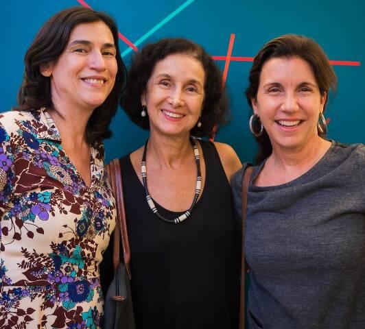 Mase Lemos, Valéria Costa Pinto e Mercedes Lachmann