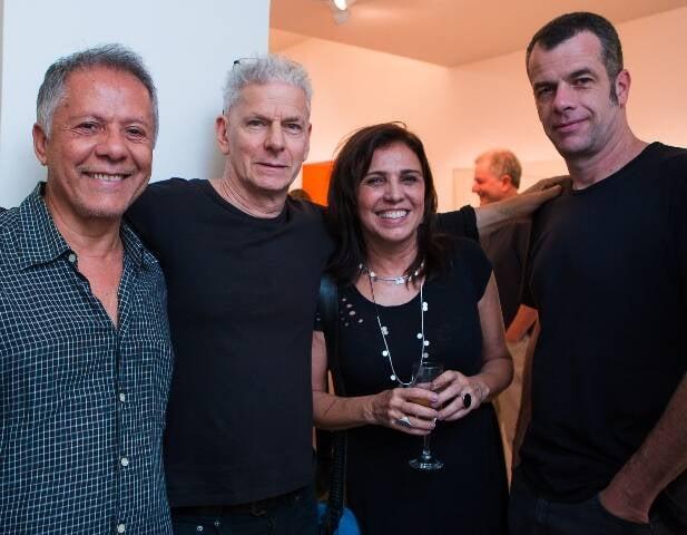 Manfredo de Souza Neto, Daniel Feingold, Fernanda Junqueira e Michael  Asbury