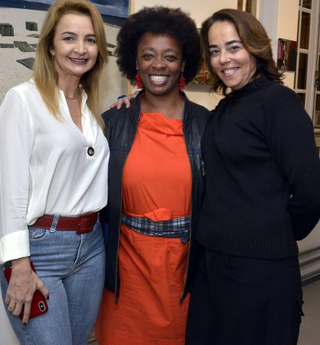 Simone Cadinelli, Keyna Eleison e Ursula Tautz   - Fotos: Cristina Granato