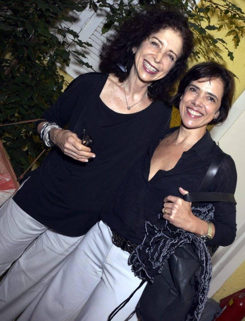 Carole Chueke e Aline Marins   -  Fotos: Cristina Granato