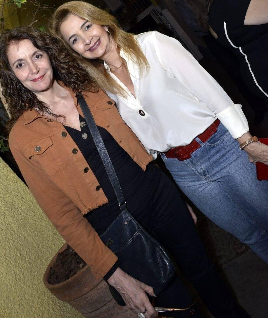 Helena Trindade e Simone Cadinelli -  Fotos: Cristina Granato