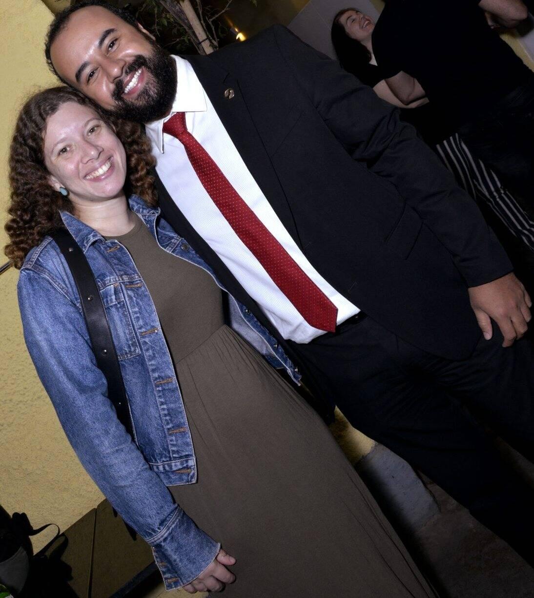 Georgia Santana e Leonardo Silva  -  Fotos: Cristina Granato