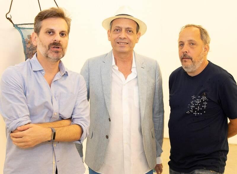 Alex Gabriel, Carlito Carvalhosa e Barrão