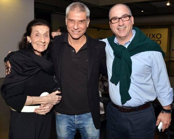 Gloria Mussnich, José Bechara e Luiz Mussnich