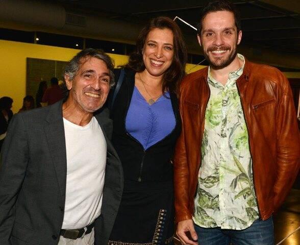 Luiz Pizarro, Cristina Fragoso Pires e Hugo Bianco