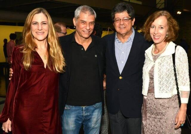 Dedina Bernadelli, José Bechara, Carlos Alberto Chateaubriand e Beate Reifenscheid