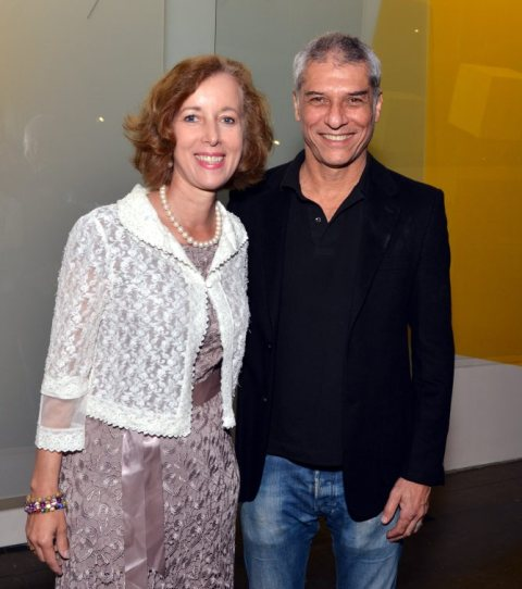 Beate Reifenscheid e José Bechara