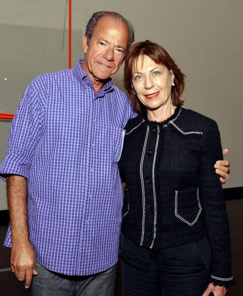Leôncio e Anita Schwartz
