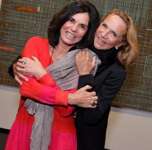 Marcia Braga e Lenny Niemeyer