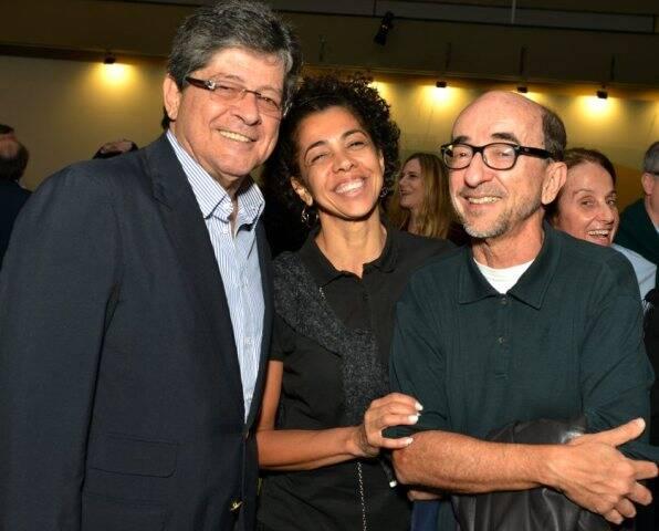 Carlos Alberto Chateaubriand, Lilian Sapucahy e  Joaquim Ferreira dos Santos