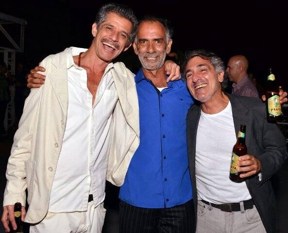 Cabelo, Marcos Cardoso e Luiz Pizzarro