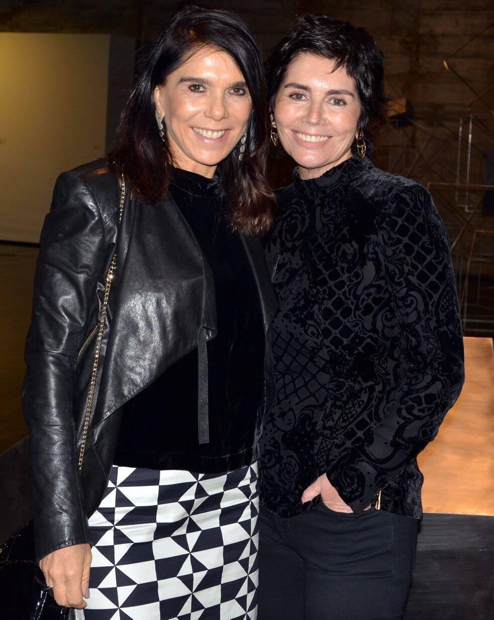 Bia Rique e Sandra Arraes