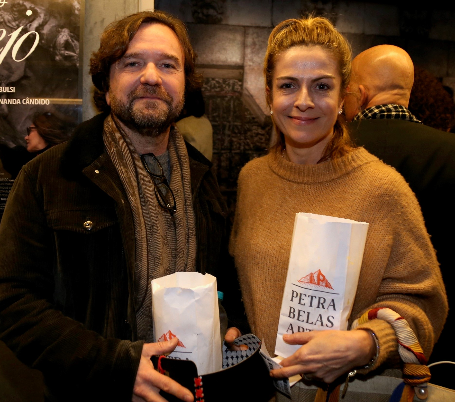 Sérgio Azol e Carol  Emerenciano  /Foto: Denise Andrade
