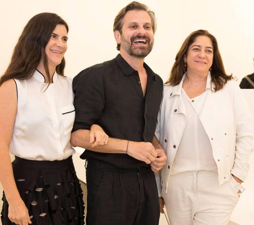 Marcia Fortes, Alexandre Gabriel e Alessandra Daloia