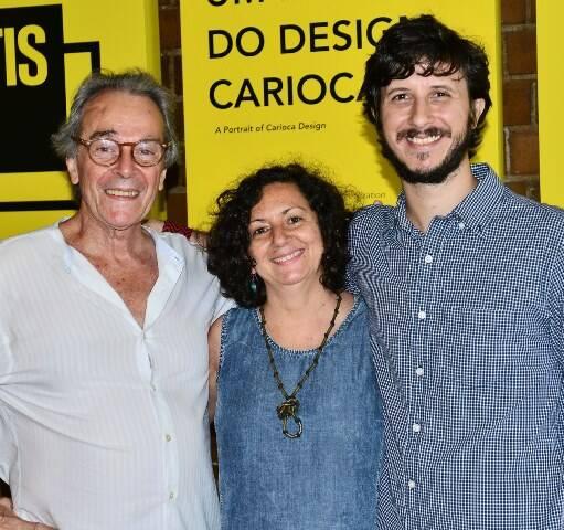 Túlio Mariante, Heliana Marinho e Pedro Braga