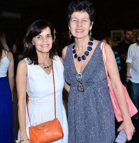 Angela Falcão e Cláudia Noronha