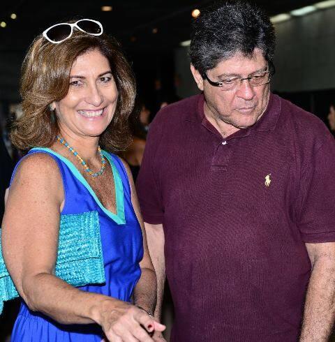 Sílvia e Carlos Alberto Gouvêa Chateaubriand