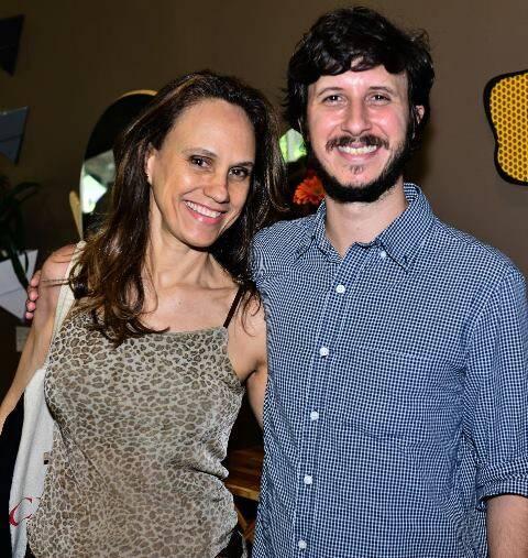 Rozana Hypólito e Pedro Braga