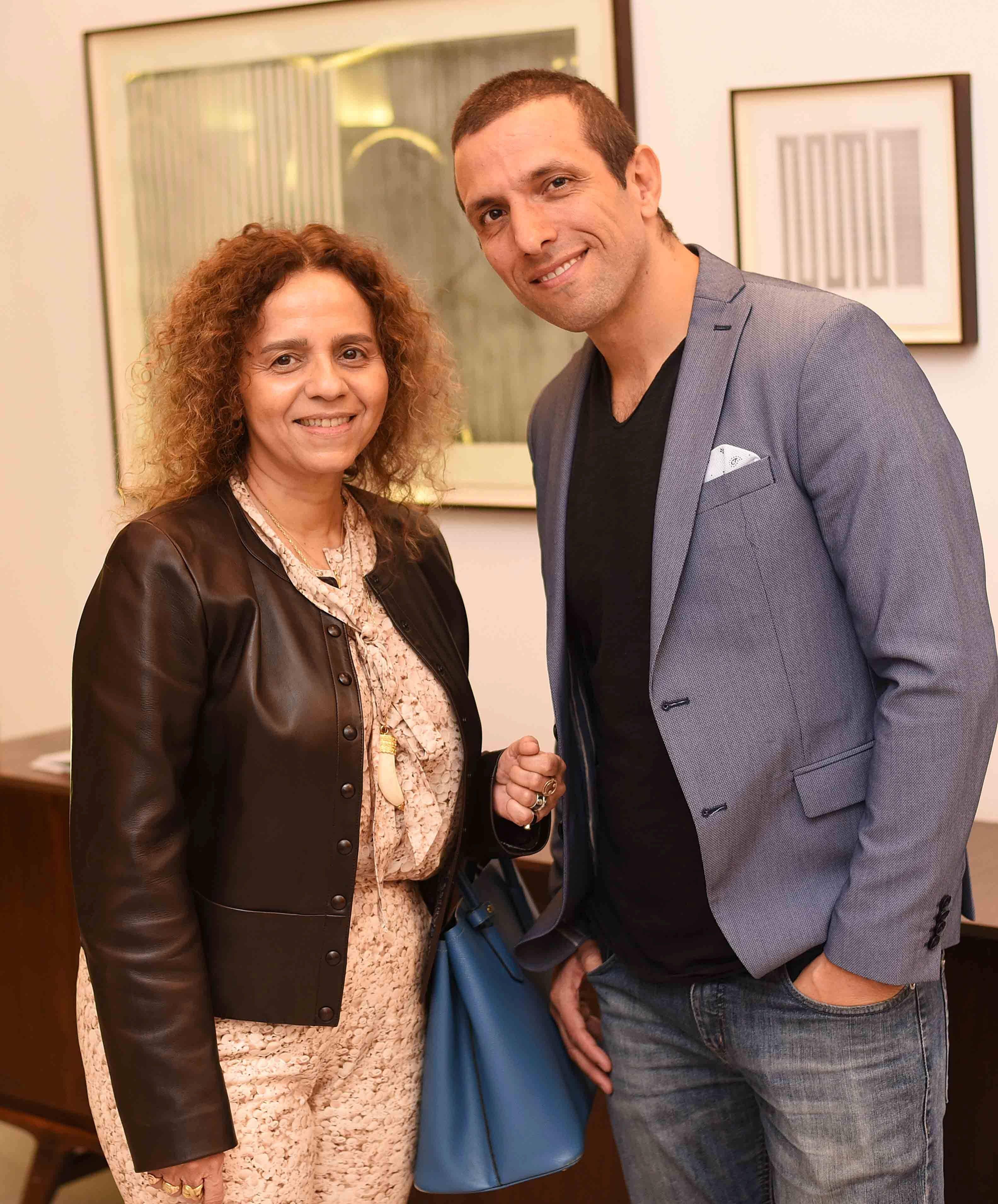 Beatriz Milhazes e Mauricio Lima/ Foto: Ari Kaye