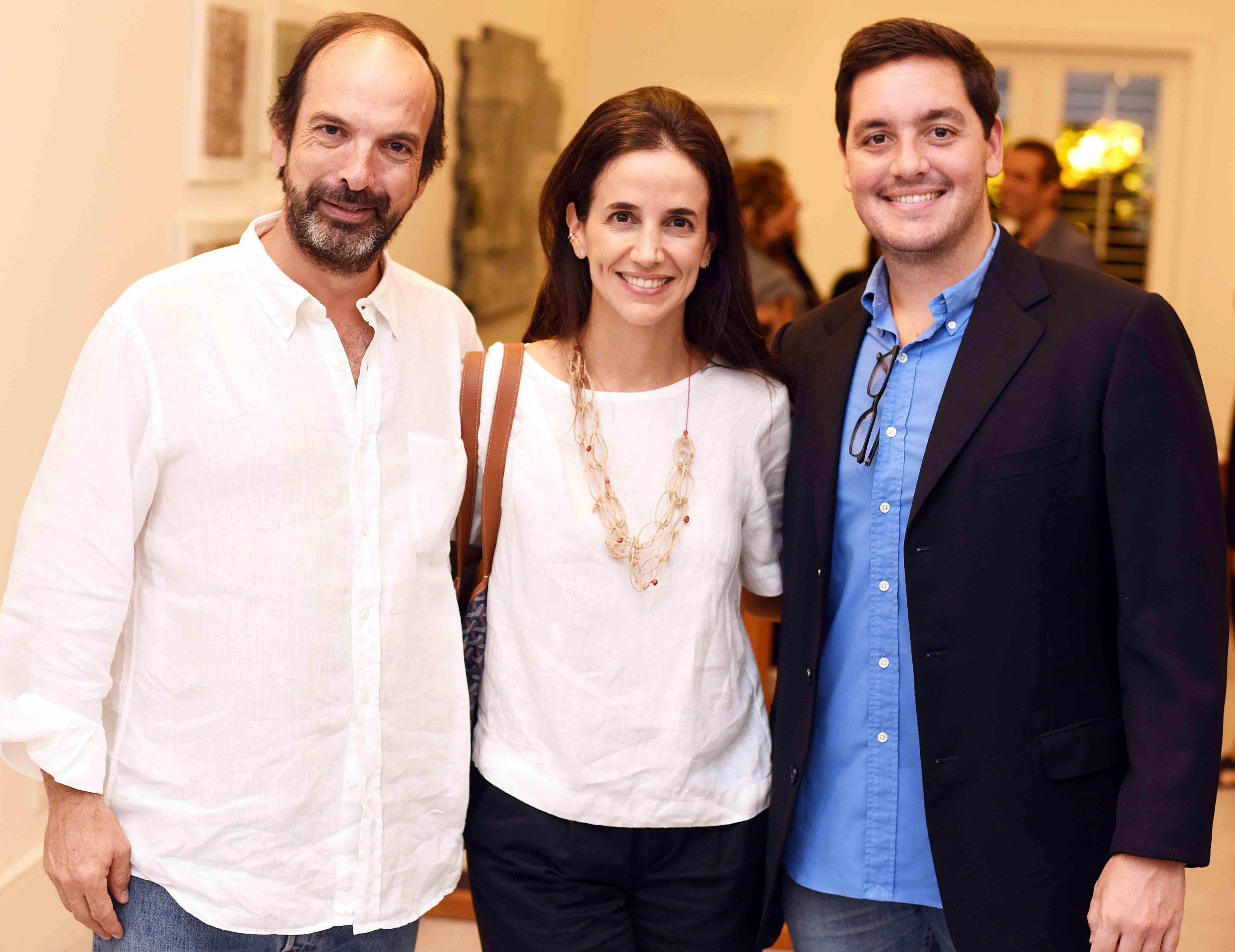 Gonçalo Cunha Ferreira, Camila Legey e Felipe Siqueira Cavalcanti/ Foto: Ari Kaye